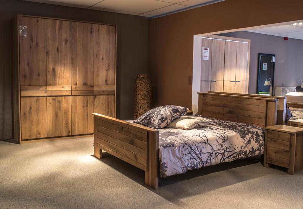 slaapkamer massief hout